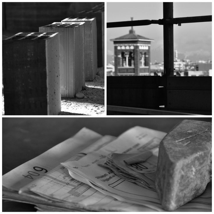 cantiere - milano collage