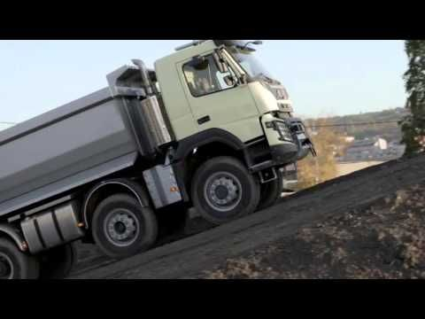 Volvo Trucks FMX Look Whos Driving feat 4 year old Sophie Live Test with 540 PS - YouTube