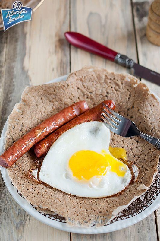 Staffordshire oatcake, naleśniki owsiane na drożdżach