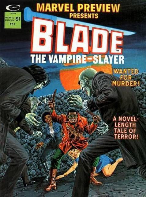 Howie's World of Comics: Marvel Preview #3 Ft Blade (Marvel magazine/1975)