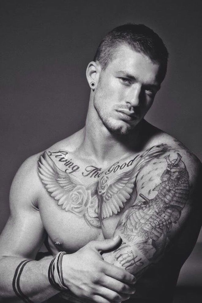 Pin On Men's Tattoos