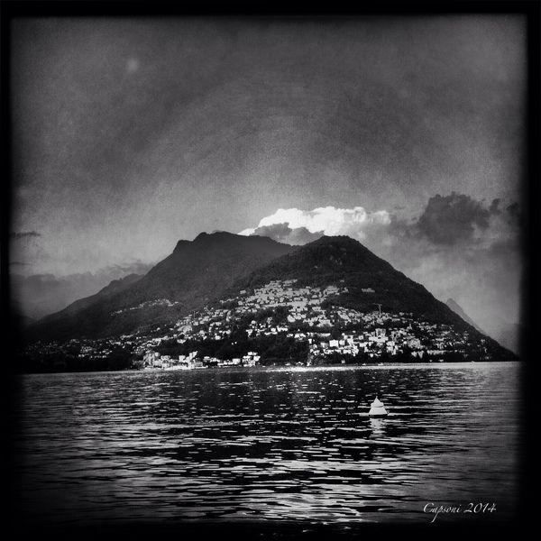 Foto Capsoni - Lugano august 7, 2014 . Monte Brè