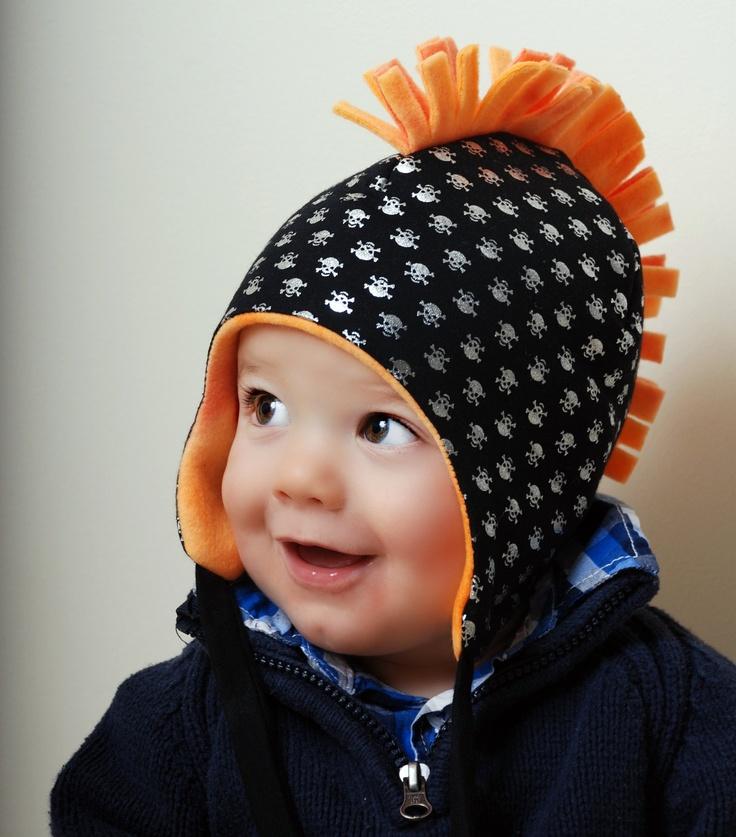 Skully, Baby Boy Hats, Fleece Hat