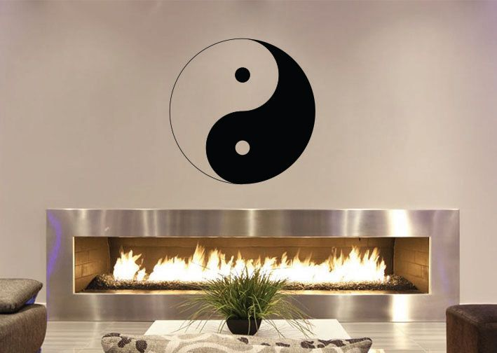 25 best ideas about ying yang symbol on pinterest ying for Meuble mural yin yang