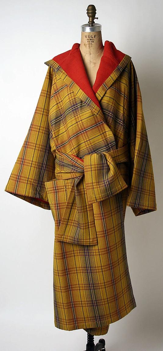 Coat by Issey Miyake, fall/winter 1976-77 (love the kimono elements!)