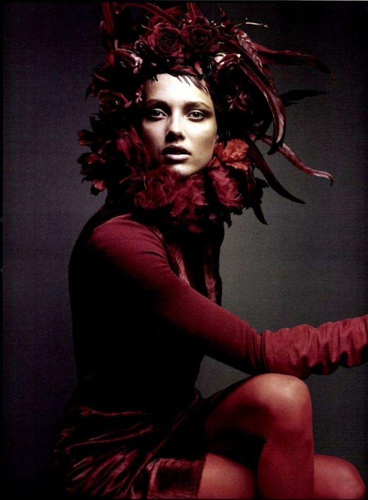 Model: Karmen Pedaru - Numéro #127 October 2011 | Photog: Greg Kadel | Portrait - Editorial - Fashion - Photography - Pose