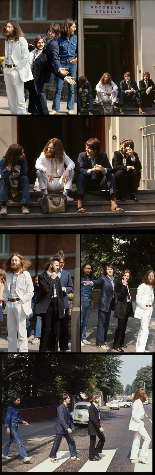 Paul Mc Cartney muestra fotos inéditas de Abbey Road | Espectacular