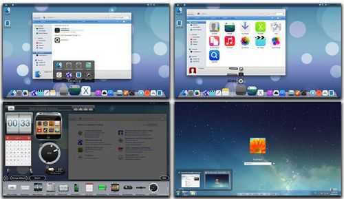 iOS 7 Theme Pack for Windows 7, 8 Free Download  Turn Windows PC into iPhone