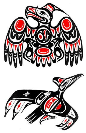 94 best images about alaska native on pinterest wolves for Native american tattoo artist seattle