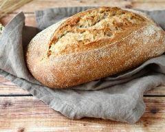 Potato bread (pain à la purée de pommes de terre) (facile, rapide) - Une recette CuisineAZ