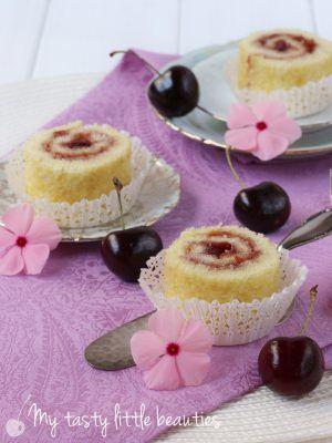 Biskuitschnecken mit Marmelade – My tasty little beauties