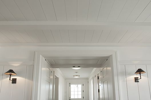 Vertical White Wood Paneling White Wood Paneling On