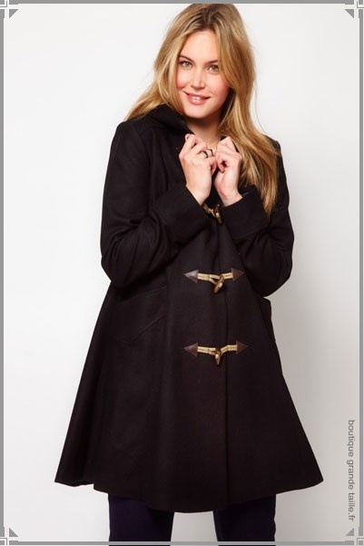 1000 Images About Manteaux Femme Ronde On Pinterest Coupe Fonts And Duffle Coat