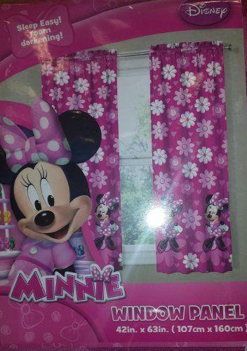 Disney Minnie Mouse Room Darkening Wi