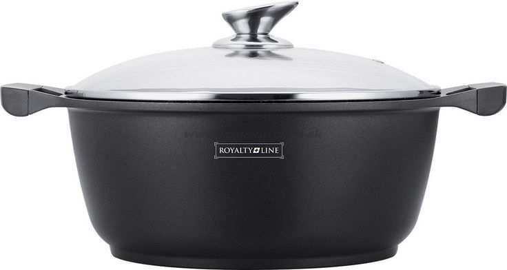 Royalty Line Marble Granite Coating Casserole With Lid 24,26,28,30,32, – Restful Spaces