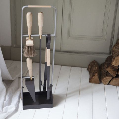 Eldvarm Emma Companion Set Exclusive Fireplace Tools