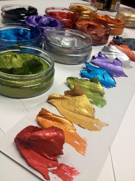 Inka Gold by Viva Colour -Blending colors 2