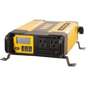 Dewalt 1000 Watt Power Inverter Dxaepi1000 The Home Depot In 2020 Dewalt Dewalt Tough System Power Inverters