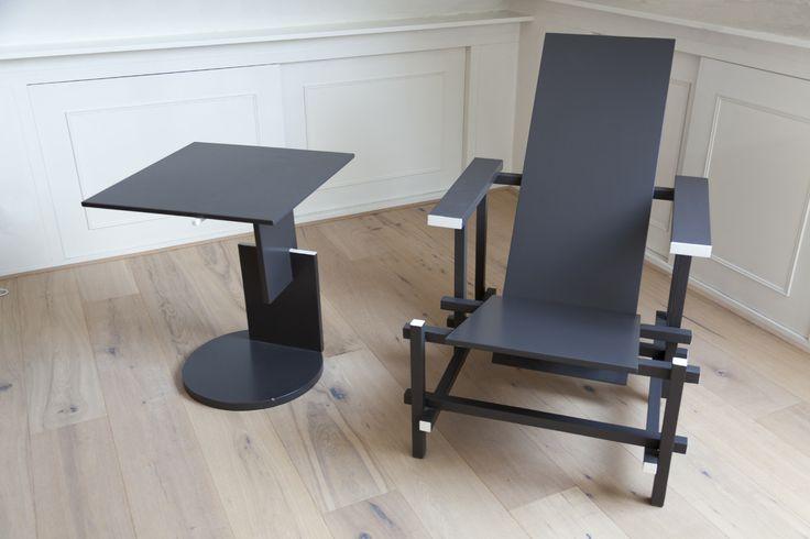 Rietveld stoel en Tafel