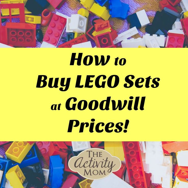 Cheap Legos! How to buy Lego sets at Goodwill prices