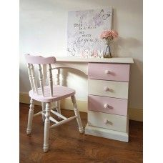 Small Dressing Table and Chair