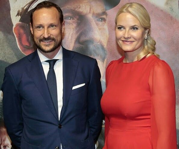 CP Haakon and CP Mette-Marit of Norway in Toronto Canada. November 8 2016