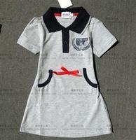 Скачать выкройку детское платье-поло