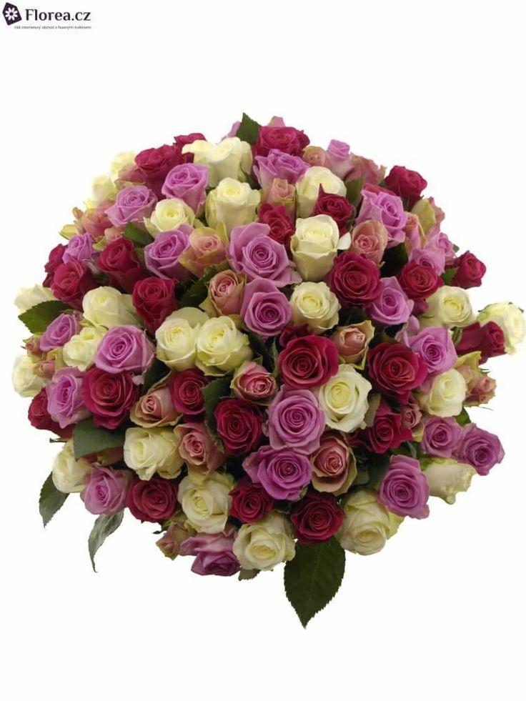 Nejkrásnější květiny s doručení k milované osobě.