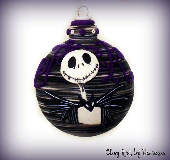 Jack Skellington Christmas Ornament: 17 Best Images About Christmas Ornaments On Pinterest