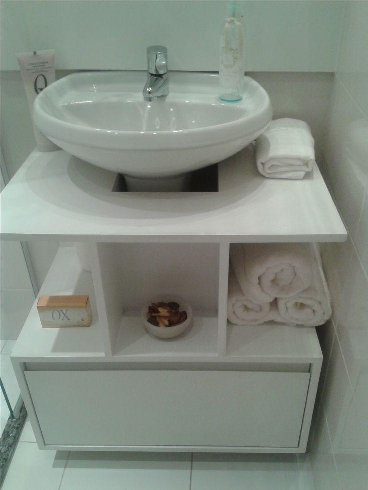 Para baño pequeño