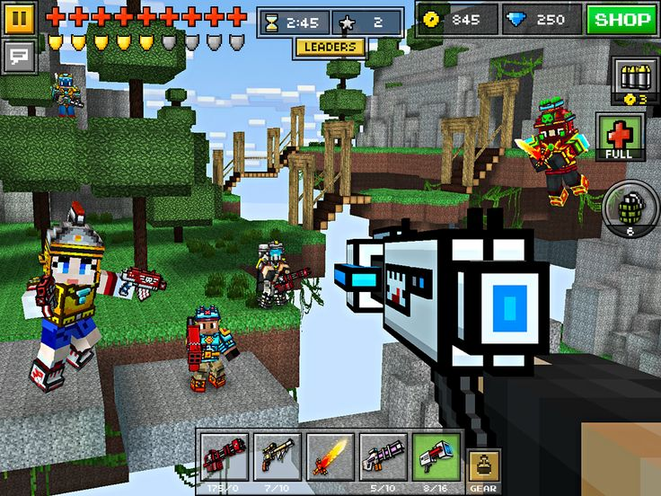 The game pixel gun 3D is real shooting game developed for both android, iOS as well as windows devices. Basically, it is a survival game and at the same time, an aiming game too.