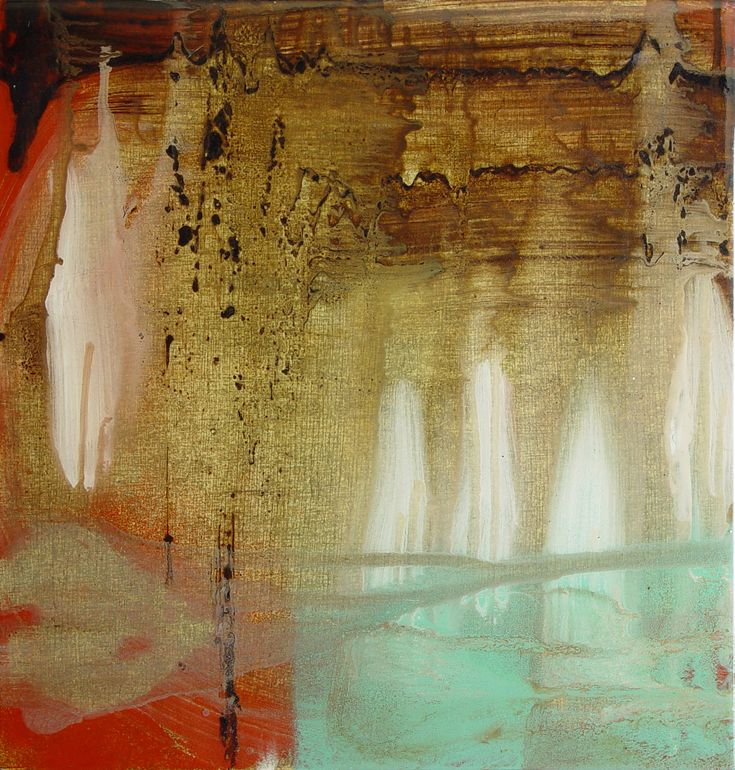 Spirit pool by Steve Woodhouse, Canada   concrete, enamel and resin on wood panel