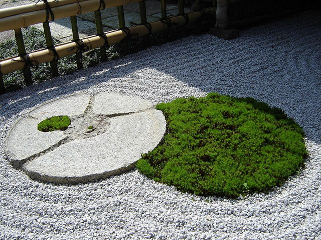 Japanese Zen Rock Garden Design