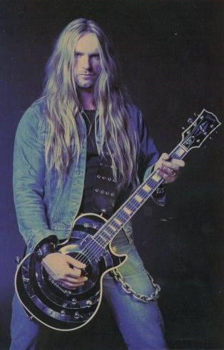 Zakk Wylde.  My lord, how this girl misses that chin dimple!