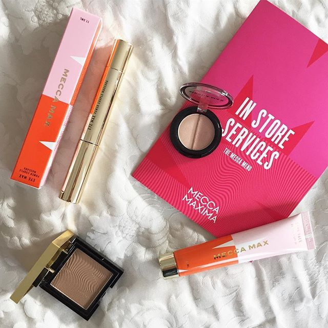 I picked up some of the brand new MECCA MAX beauty products and, really, who could blame me; check out the gorgeous packaging! I went with a BB cream, eyeshadow duo, and mascara. Have you tried the new range yet? #littlelistofmine #GenerationMAX
