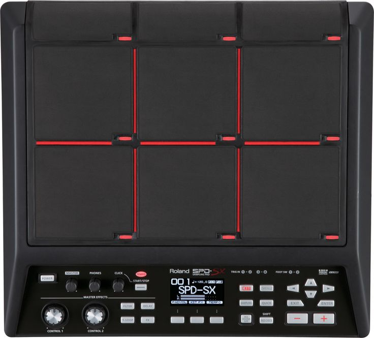 Chris thinks he'd be awesomer if he had this by his side, a Roland SPD-SX Sampling Pad.