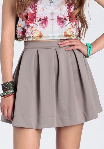 Grey Skater Skirt http://www.creativelatvia.com/en/balloon_skirt