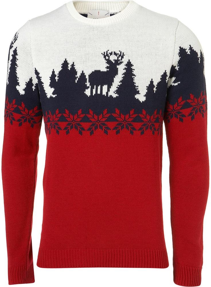 Festive christmas sweater