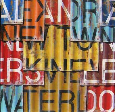 nouvelle fraîche: un peintre urbain : Ross Tamlin