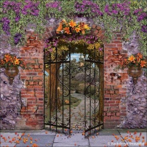 17 Best Images About Fences, Gates, Walls On Pinterest