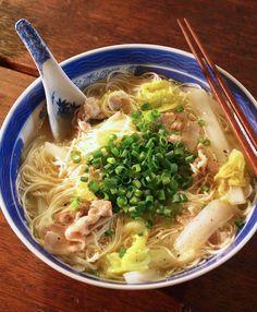 我が家の場合、そうめんは秋冬のほうが圧倒的に消費します!「豚バラ白菜にゅうめん」 : 高円寺メタルめし・ヤスナリオのブログ
