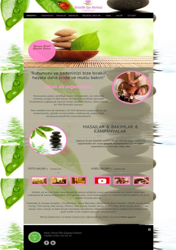 Güzellik Salonu Web Tasarım - Güzellik Salonu Sitesi - Güzellik Salonu Web Tasarımı | Web Tasarım | Web Sitesi Tasarımı | Web Yazılımı
