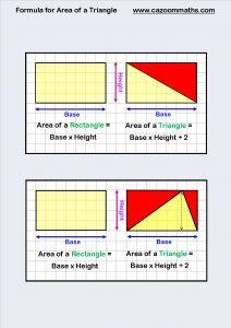Formula for Area of a Triangle