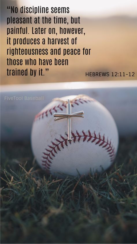 Work hard and pray hard in FiveTool baseball jewelry. Wear the Original Baseball Bat Cross to show your faith on and off the field. #bestrong
