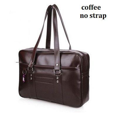 Japanese School Handbags High College Students Uniform Bag Unisex Shoulder Bags Messenger Bags PU Leather For Women Men Kabelky