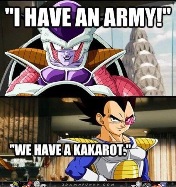 Funny Dragon Ball Z Abridged Memes : Dragon ball z avengers parody meme g the