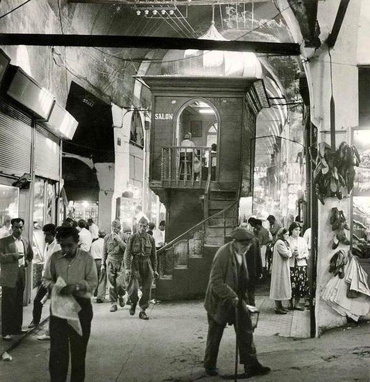 Kapalıçarşı, Çukurmuhallebici (1960'lar)