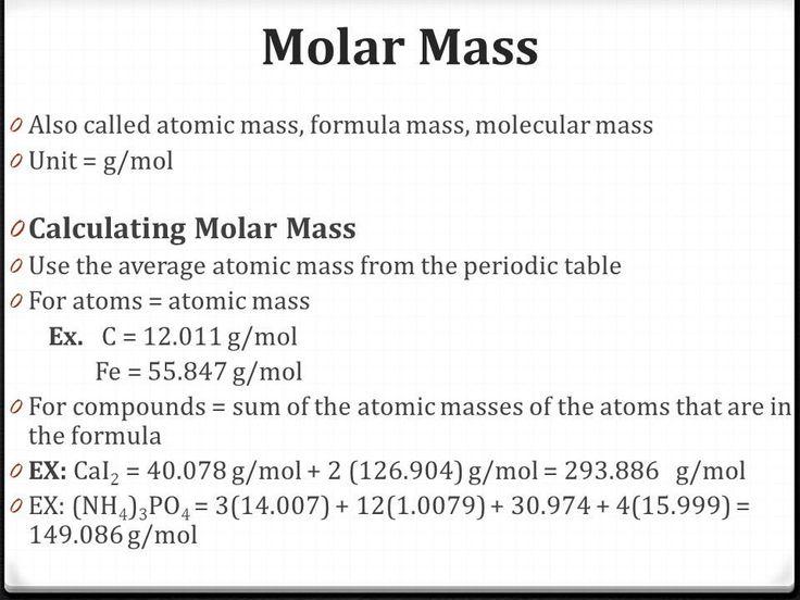 Calculating Average atomic Mass Worksheet Molar Mass