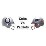 Colts vs Pats (helmets)