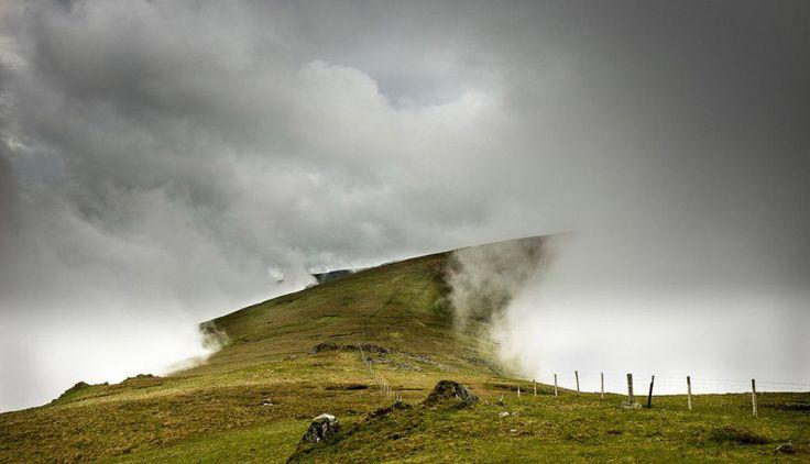 Дорога в облаках, Северный Уэльс
